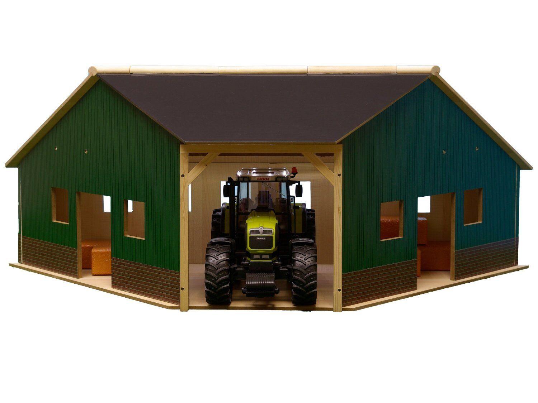 Bauernhof Halle Haus Schuppen Eck für für für Bruder Siku 1 16 TEIL 2 NEU 030172