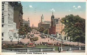 Postcard-Pennsylvania-Ave-Washington-DC