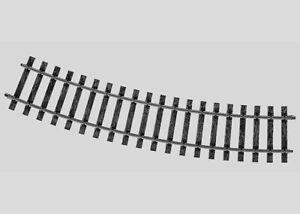 10 New Marklin 5935 1 Gauge Gebogenes Gleis G Gauge Curved Track R 1020mm 22°30'