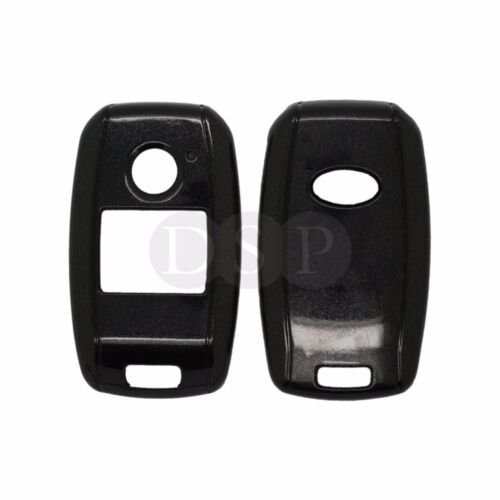Paint Metallic Color Shell Cover fit for KIA Smart Remote Key Case 3 Button BK