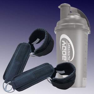 Kleingeräte & Zubehör Shaker Fitness & Jogging Best Body Nutrition gepolsterte Fußschlaufen für Zugübungen