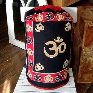 Rucksack-Shoulder-Duffel-Bag-Fairtrade-Om-Ethnic-2-Straps-Sling-Handmade-Tote