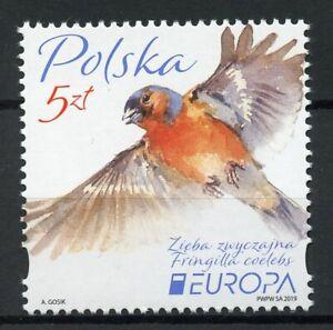 Poland-Stamps-2019-MNH-Birds-Chaffinch-Finches-Europa-Bird-1v-Set
