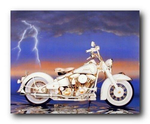 Harley Davidson Sturgis Vintage Motorcycle Wall Decor Art Print Picture 8x10
