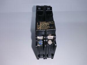 Details about Siemens ITE Gould Q1520NC Tandem Circuit Breaker 2 Pole 15/20  Amp 120/240V