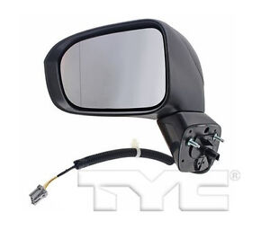 TYC Left Side Mirror Assy for Honda Civic Power Non Heated