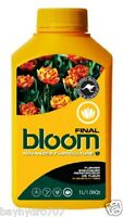 Bloom Final Advanced Floriculture Yellow Bottle Nutrients Fertilizer 1l $save$
