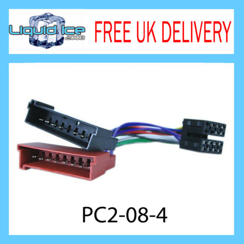 PC2-08-4 FORD ESCORT MK4 1990-1995 ISO STEREO HARNESS ADAPTOR WIRING LEAD