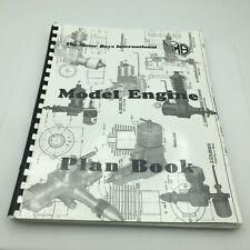 Motor Boys International Vintage Model Engine Plan Book