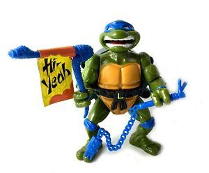 Talkin-Leonardo-Vintage-TMNT-Teenage-Mutant-Ninja-Turtles-Figure-1991-90s-Leo