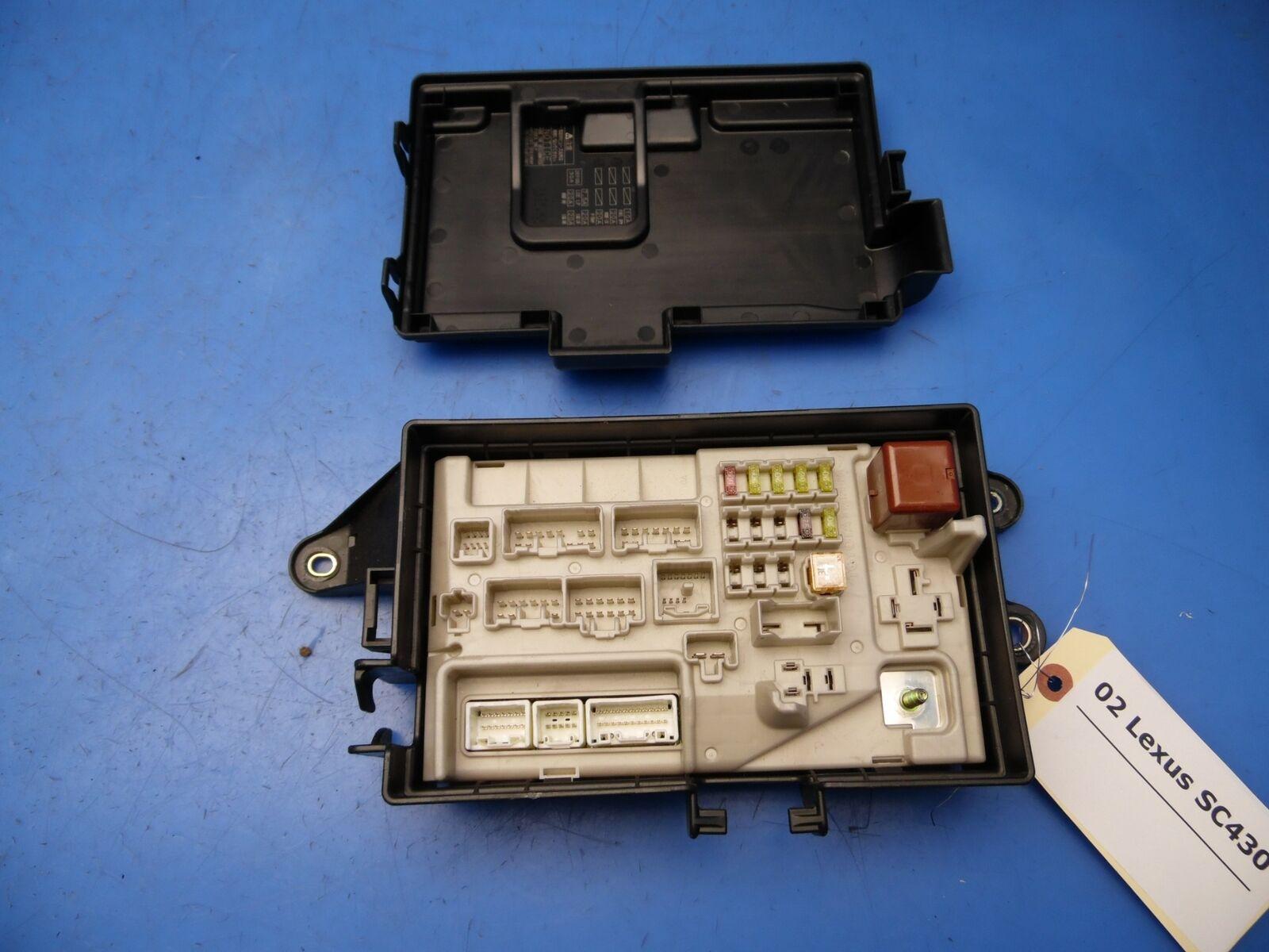 02-05 Lexus SC430 OEM REAR junction fuse box w/ fuses & relays #  82670-24090 for sale onlineeBay