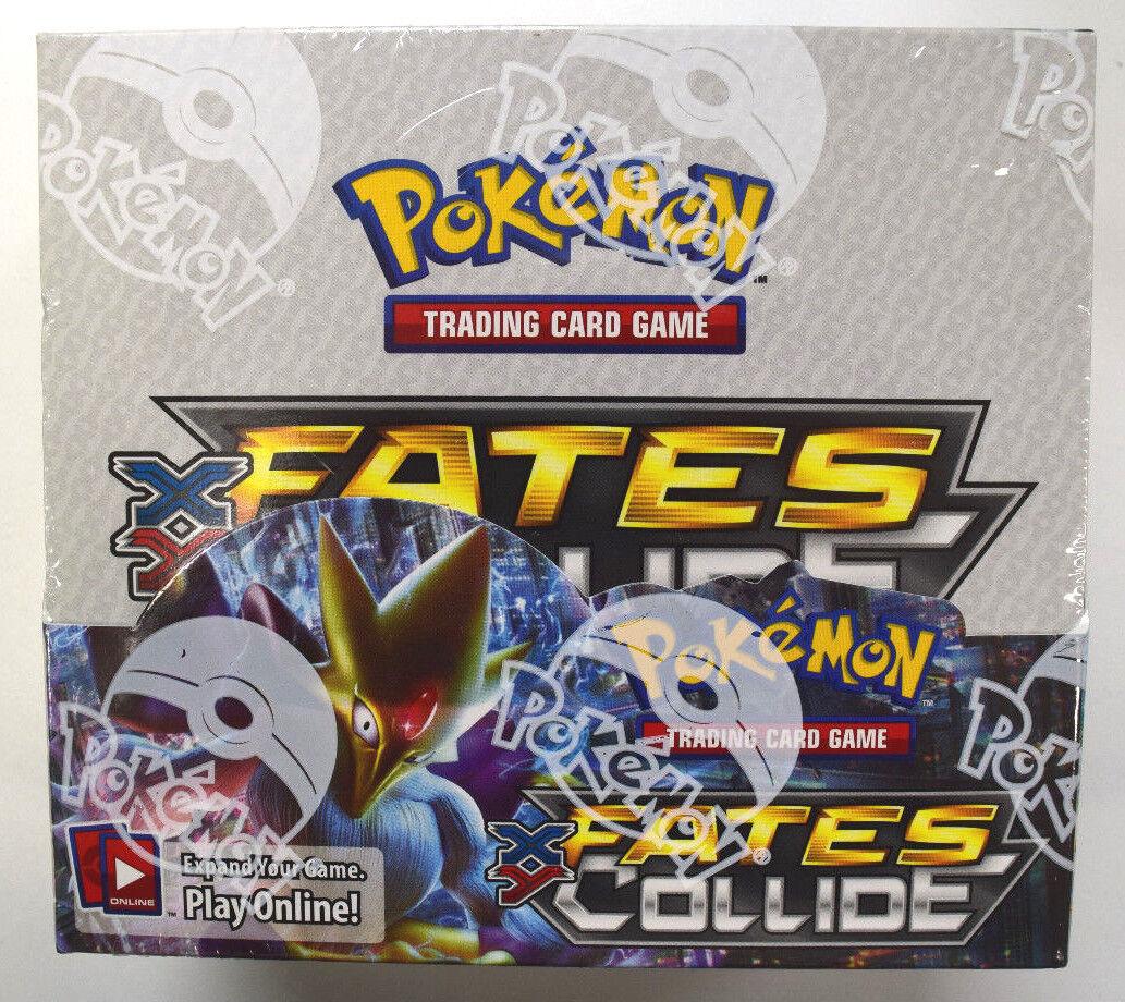 Pokemon Xy Fates Collide Factory Sealed Booster Box Nacggj2569