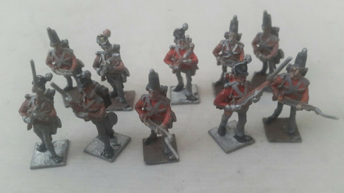 Historical tabletop 35mm figures british army - 35mm tabletop figures lot x11
