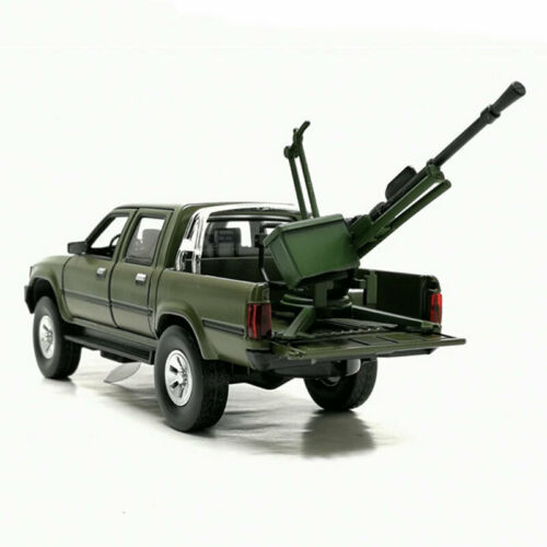1:32 Toyota Hilux Pick-up Truck mit Pak Metall Modellauto Auto Spielzeug Grün