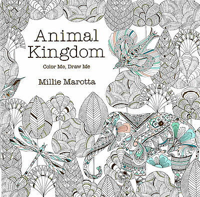 Lark Crafts Animal Kingdom: Color Me, Draw Me by Millie Marotta(2014, Paperback)
