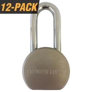 "Steel Gate Padlock 2-5//8/"" Long Shackle 3 Keys"