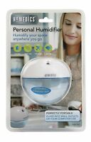 Homedics Personal Cool Mist Ultrasonic Humidifier, White , New, Free Shipping
