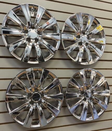 """NEW 2011-2013 TOYOTA COROLLA 16/"""" CHROME Hubcap Wheelcover CHROME SET of 4"""