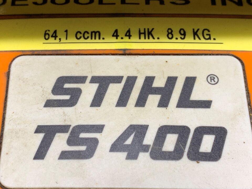 Betonsav, Stihl TS 400