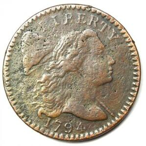 1794 Liberty Cap Large Cent 1C Coin S-58 - XF Details (EF) - Rare Variety!