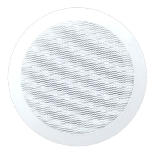 4 Pyle PDIC51RD 5.25 Inch 150W Round White In Ceiling Wall Flush Speakers Four