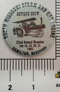 Attendees-commemorative-button-1985-North-Missouri-Steam-Engine-show-Hamilton-MO