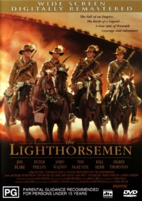 The Lighthorsemen dvd VGC FREE POSTAGE