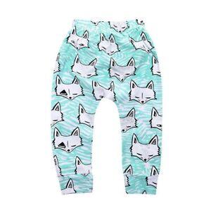 Baby-Kids-Boys-Fox-Harem-Pants-Toddler-Bottom-Trouser-Leggings-Casual