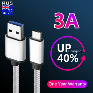 Braided-USB-3-1-Type-C-USB-Data-Cable-Google-5x-Oneplus-2-Samsung-S8-S9-Note-8