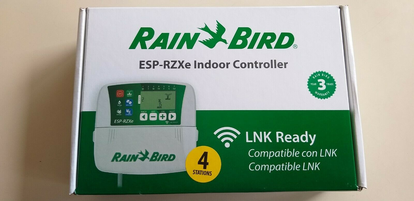Programmatore centralina Rain Bird ESP - RZXE4I 4 stazioni compatibile lnk wifi