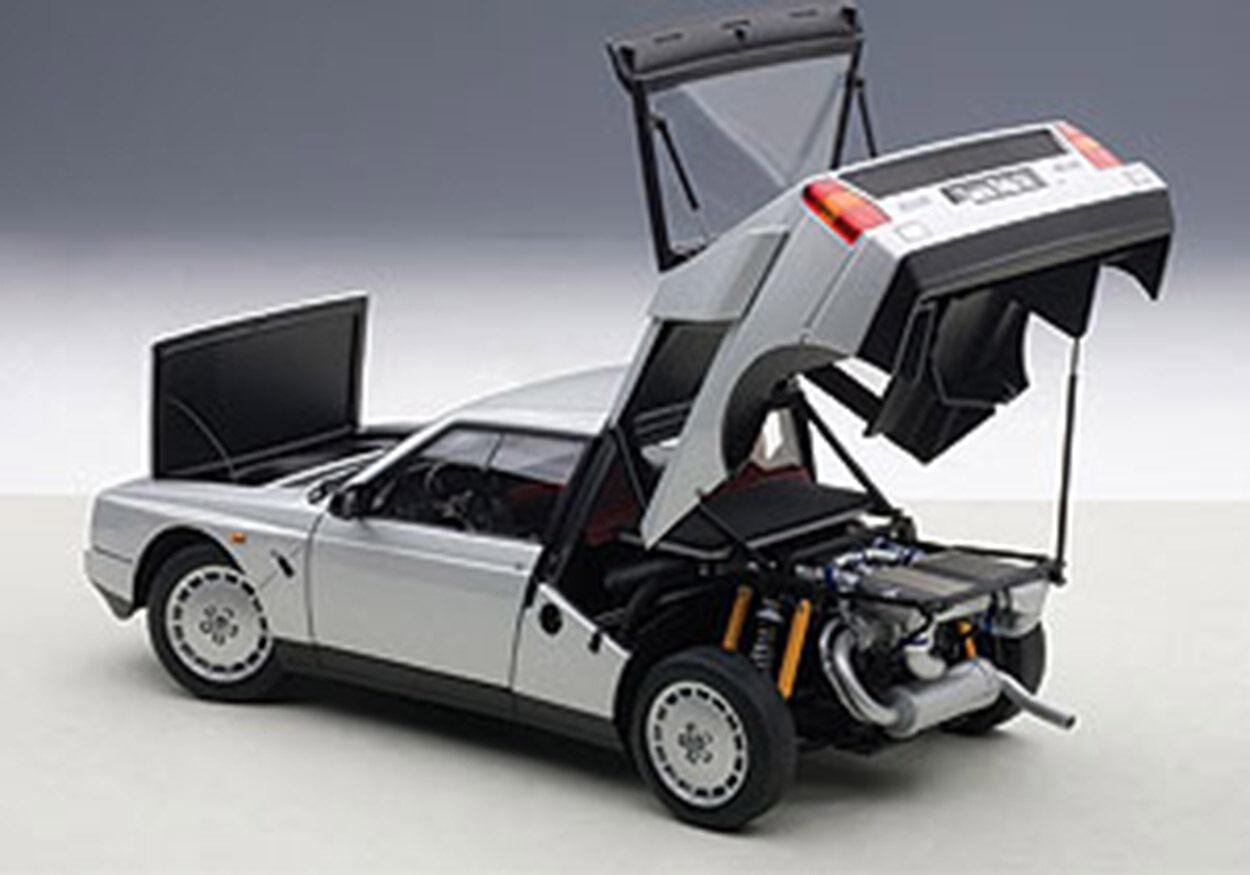 Autoart Lancia Delta S4 Grigio 1/18 Scale.new Pubblicazione Segno Distintivo