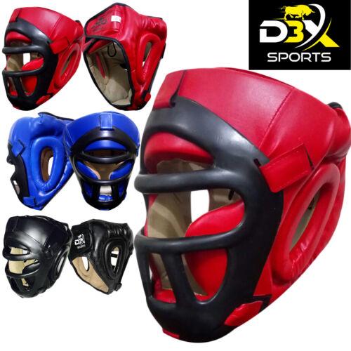 D3X Grill Head Guard Helmet Boxing Martial Arts Gear MMA Protector Kick Training