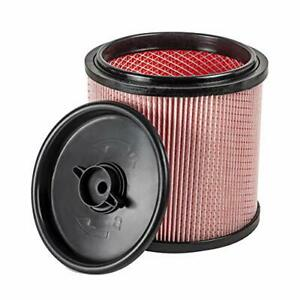 Vacmaster Fine Dust Cartridge Filter & Retainer, VCFF