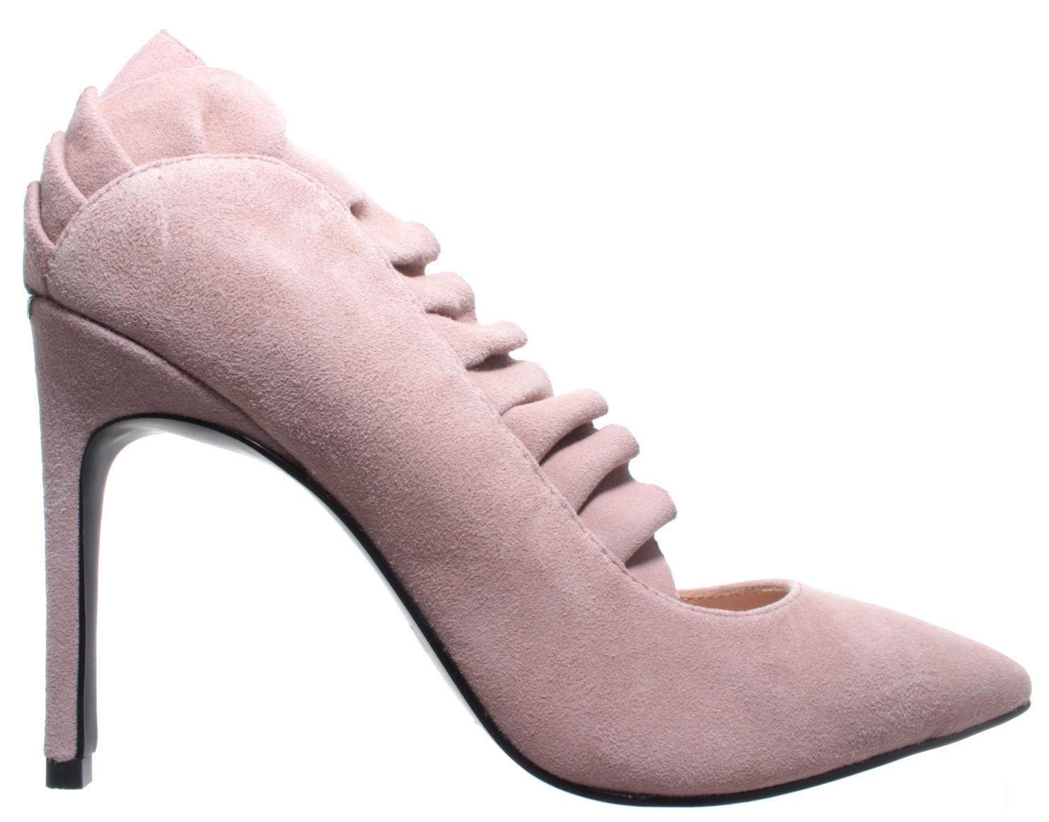 LIU JO Damen Decolletè Pumps Schuhe Lola 04 Decollete Kid Suede Antique Rose