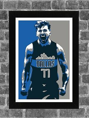 Luka Doncic Dallas Maverics Art Graphic in Gray Black or White Baby Onesie Ages 3-12 Months 100/% Cotton Soft Limited Quantity