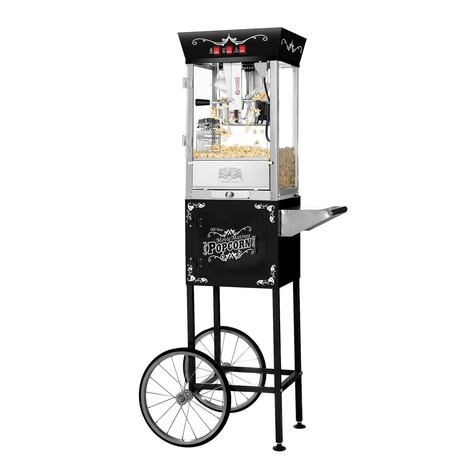 Great Northern Princeton Popcorn Machine And Cart For Sale Online Ebay