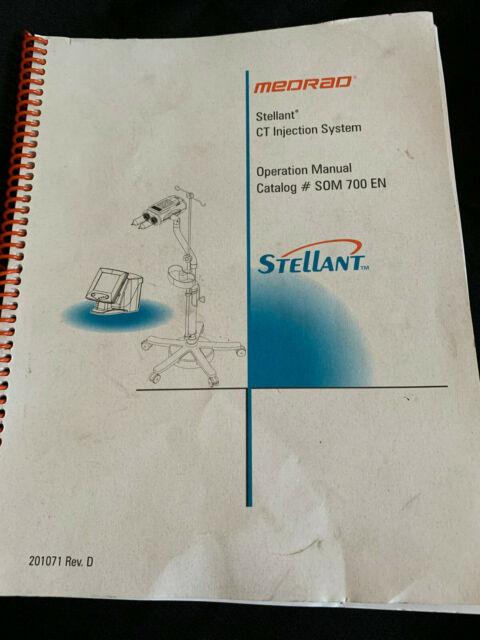 medrad stellant manual