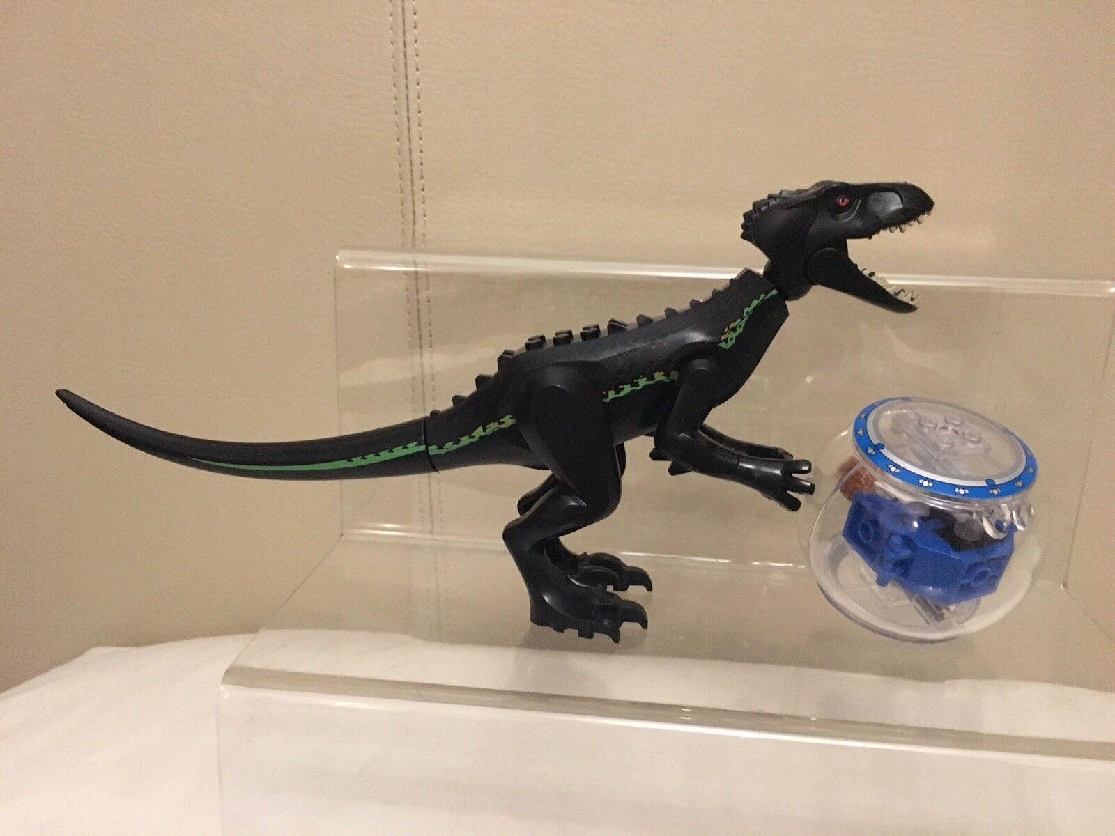 2 Pcs INDO-RAPTOR Set Large Large Large size Jurassic Fallen Park Word fits l@go 5563ab
