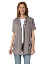 top trendy BOYSENS Shirtjacke BOYSEN´S Shirt Jacke Gr.36 NEU grau