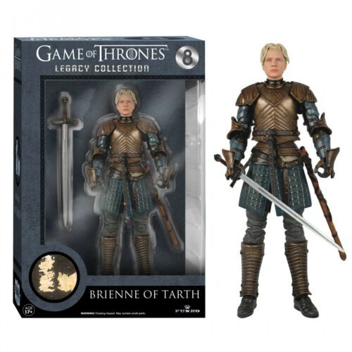 Game of Thrones NIB Brienne of Tarth New Funko Legacy Figurine Statue Figure