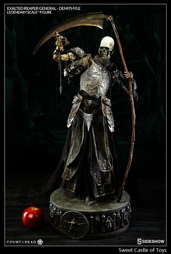 1 4 Sideshow Court of The Dead Exalted Reaper General Demithyle Legendary Figure
