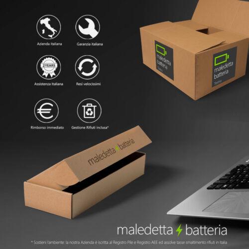 PA5107U1BRS Batteria EQUIVALENTE toshiba P000573230 P000617510