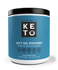 Keto MCT Oil Powder: Unflavored Ketosis Supplement Medium Chain - for -
