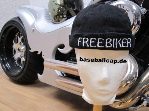 1 freebiker chiefcap broomecap trendcap dockcap senza scudo Biker CAP n