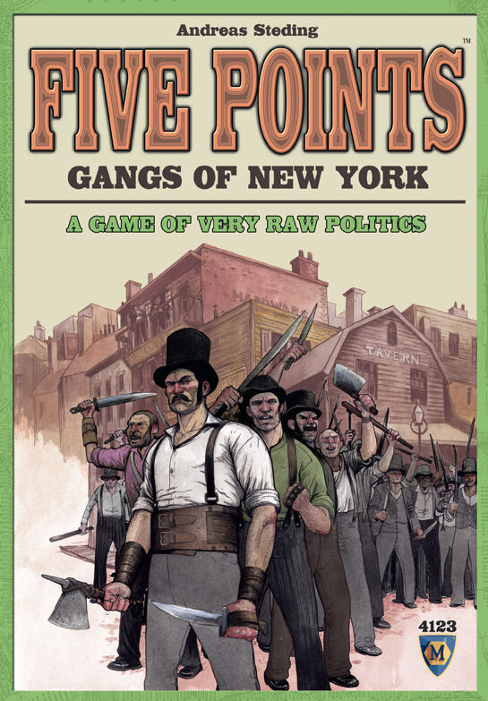 Five Points - Gangs of New York, Boardgame - English Language, Factory Sealed