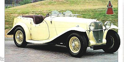 1937/1938/1939 Allard V8/v-8 Spezial Folie/broschüre/flieger Durchblutung GläTten Und Schmerzen Stoppen