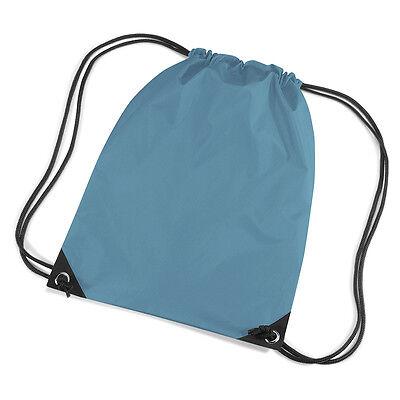 Ocean Blue Coulisse / Tote / Zaino / Pe / Palestra / Nuoto / Scuola Borsa-e/backpack/pe/gym/swim/school Bag It-it Mostra Il Titolo Originale Irrestringibile