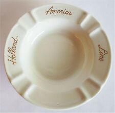 VINTAGE MAASTRICHT HOLLAND AMERICA CRUISE LINE PORCELAIN ASHTRAY ASH TRAY 4¼?