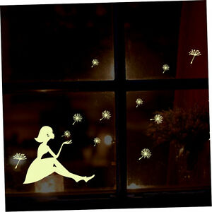 Glow-In-Dark-Wall-Sticker-Dandelion-Luminous-Fluorescent-Stickers-Wall-Decals-r
