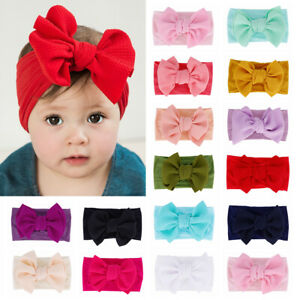 Headwear-Hair-Accessories-Baby-Girl-Soft-Kids-Bow-Headband-Corn-Hair-Band